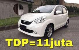 Daihatsu SIRION AT (Matic) | Bisa Kredit TDP=11juta