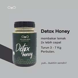 ORGANIBEE DETOX HONEY madu pelangsing herbal