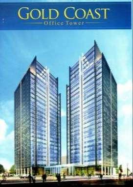 Disewakan Office Tower Kantor Gold Coast Pik 117m2