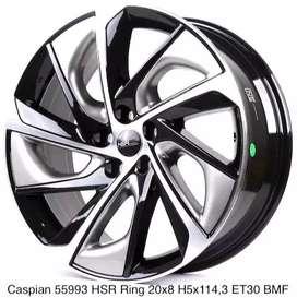 CASPIAN 55993 HSR R20X8 H5X114,3 ET30 BMF