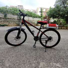 Cycle with 21 Gear | Dule Disk Break | Hydrolics | All Accessorie