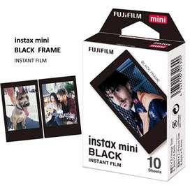 Insta Mini Black Film Refill - Kertas Foto Insta Mini & Instax Share