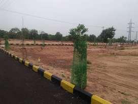 near Srisailam Highway plots