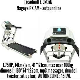 Treadmill elektrik NAGOYA RX AM AUTO INCLINE id 88817773