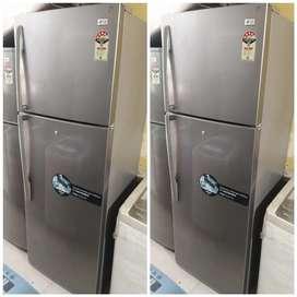 5 year warranty LG 390 liter double door fridge
