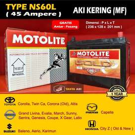 Aki Kering Great Corolla Free Delivery