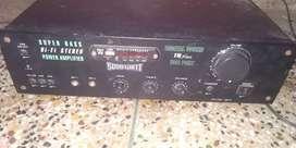 Amplifier/Woofer