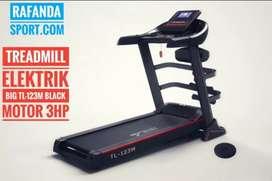 TL-123M Treadmill Elektrik 3 Fungsi Keluaran Terbaru Kuat Dan Kokoh