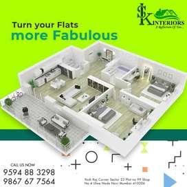 We provide Total Interior works