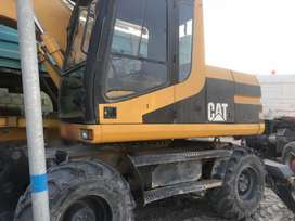 Used Caterpillar Wheel Excavator Model M312