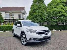TDP 14JT Honda CRV 2.4 Prestige 2013 AT Km Rendah Putih 1 Tangan