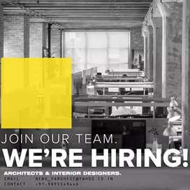 Need architect & interior designer