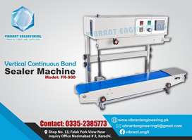 Continuous band sealer, Sealing, sachet Packing Machines