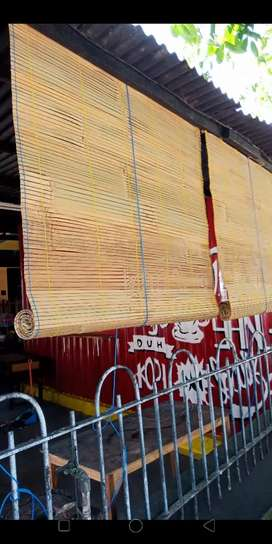 Krey tirai bambu Gresik asli