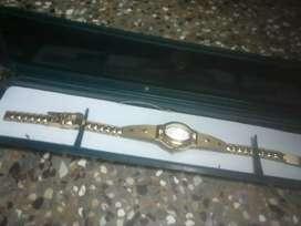 New golden watch
