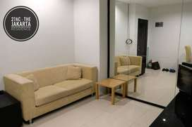 Sewa Apartemen Jakarta Residence 1 Bedroom Lantai Tinggi View Selatan