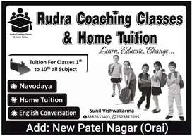 Rudra coaching classes and home tuition