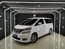 Vellfire 2.4 V Premium Sound th 2012 (L) Putih km40rb Body 100% OriCat