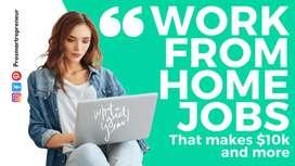 Offline typing work