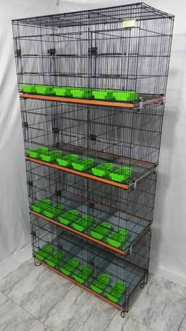 12, 8, 4 Portion Cage Foldable