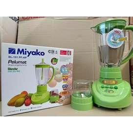 Blender Miyako BL 151 PF AP-Pelumat-2in1-basah kering-1.5L-wadah mika