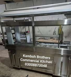 Fast Food Counter6x2.5Hotplate18x24.Fryer16Litre Automatic.Grill 24x24