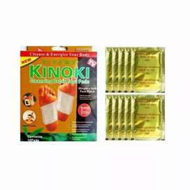 Kinoki Gold Detox Kaki Asli Original 1 box isi 10 pcs