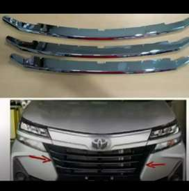 Gril Trim Chrome Avanza 2019