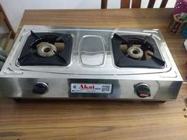 Almost new 2 burners gas stove