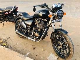 thunderbird matte black 350cc