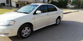 Toyota corolla xli converted to GLI 2004/5 white color