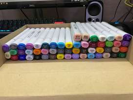 Copic Sketch markers (54 count) + 2 refills, [ART SUPPLIES/DRAWING]