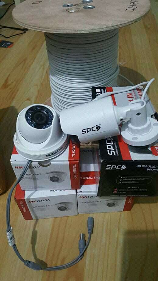 Paket Camera Cctv Spc berkualitas Hd.Pandeglang 0