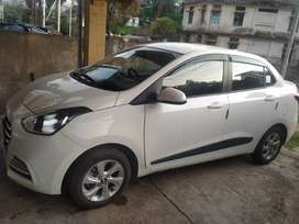 Hyundai Xcent 2018 Petrol Well Maintained.top model