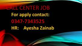 we need confident people for call center job