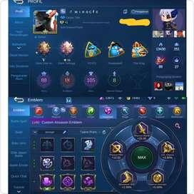 Akun Mobile Legend Rank Mythic