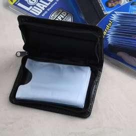 Lock Wallet Dompet Kartu Kulit 18 Slot H013 18 Kartu 18Slot H0 13