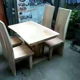 Meja makan jati 2552