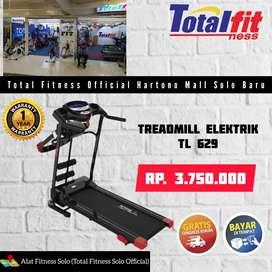 Alat fitness treadmill/Total fitness Hartono Mall Solo Baru