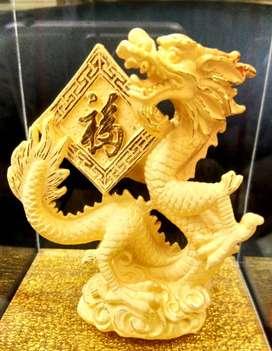 LuvDee Patung Pajangan 24K Shio Naga Fu  _05