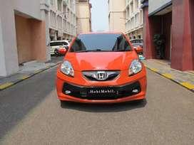 Honda Brio E matic 2013 Oranye TDP 15jt