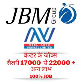 Urgent Need For Welders in JBM Group/Honda Suppliers
