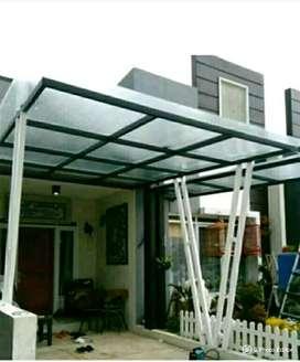 kami bengkel siap krjakan pemasangn kanopi rumah,ruko,cafe,kantor dll