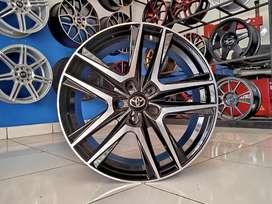 Ready velg Rep Toyota ring 18x8 pcd 5x114.3 et 42 Innova alphard