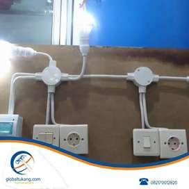 Jasa pasang instalasi listrik, sedot wc/septictank, limbah