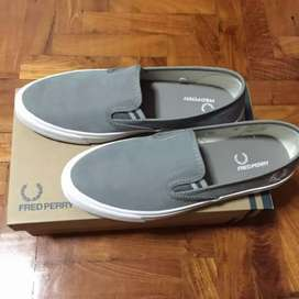 Fred Perry slip turner shoes size 9.5/42-43