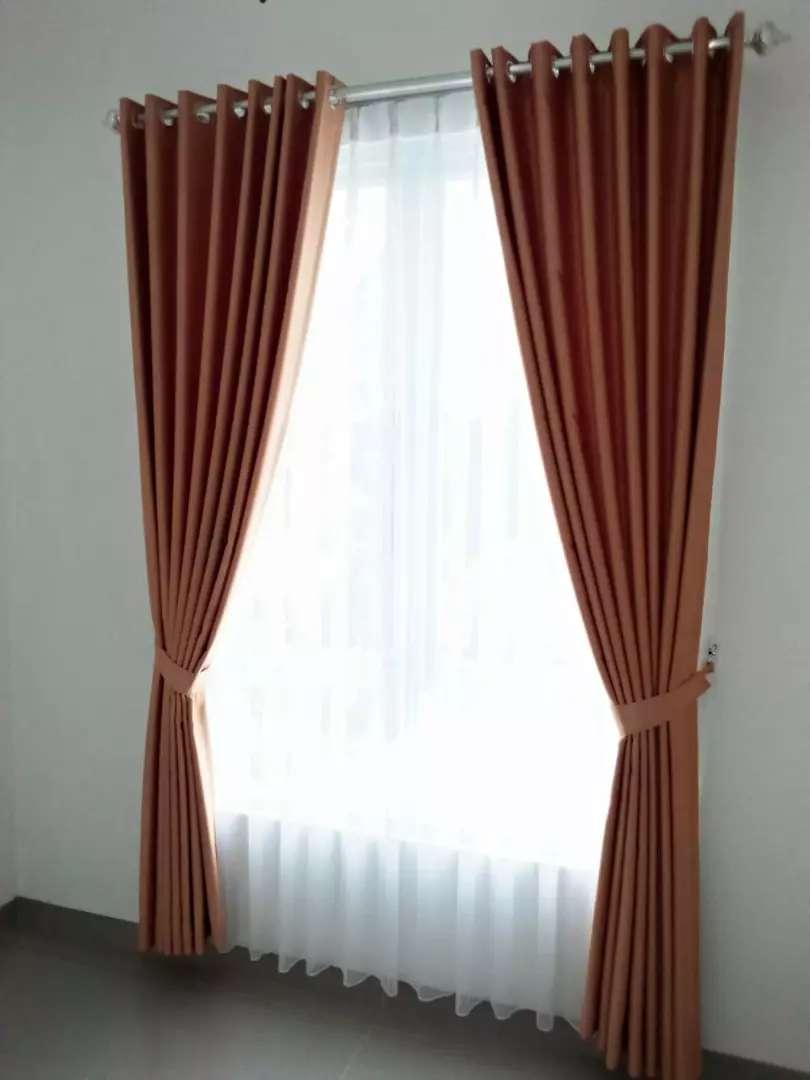 Hordeng gorden gordyn curtain series-11535 desain klasik laris 0
