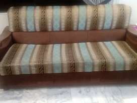 Good condition seven seater sofa set for sale