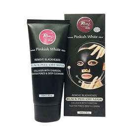 Original Rivaj UK Charcoal Black Peel Off Mask 100ml - Home Delivery