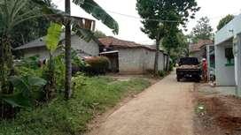 Dijual Tanah 100m2 Harga 120juta di Desa Waru, Parung - Bogor